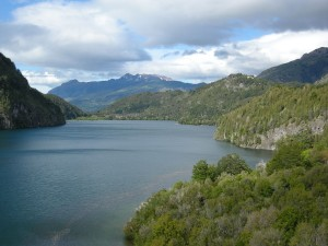 Postal: Vista de Lago Verde (Argentina)