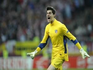 Courtois, portero del Atlético de Madrid