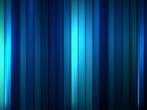 Postal: Rectángulos azules