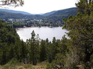 """Vista de """"San Martín de los Andes"""" desde Mirador Bandurrias"""