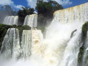 Postal: Cataratas del Iguazú