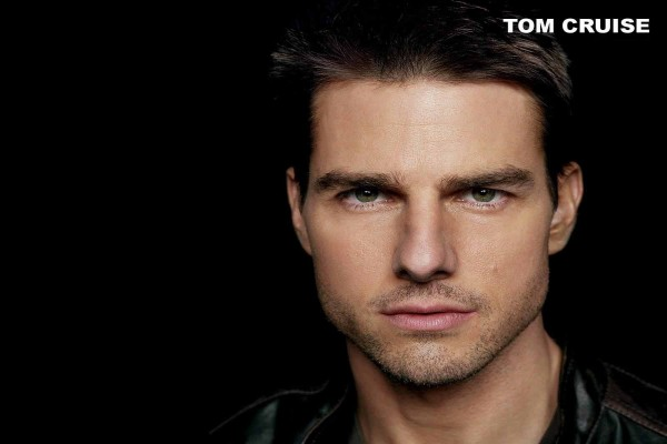 Mirada intensa de Tom Cruise