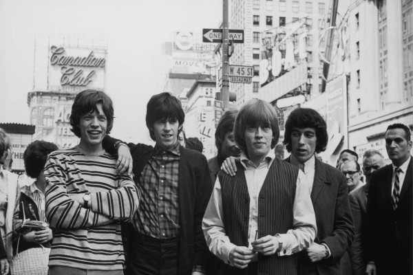 The Rolling Stones de jóvenes