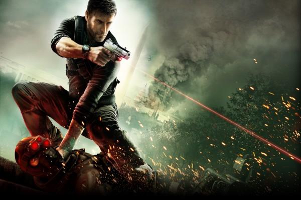 Splinter Cell, pistola con puntero láser