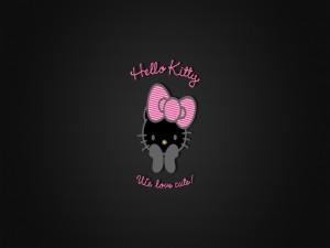Postal: Linda Hello Kitty