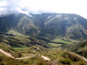 Postal: Cuesta del Obispo, Provincia de Salta (Argentina)