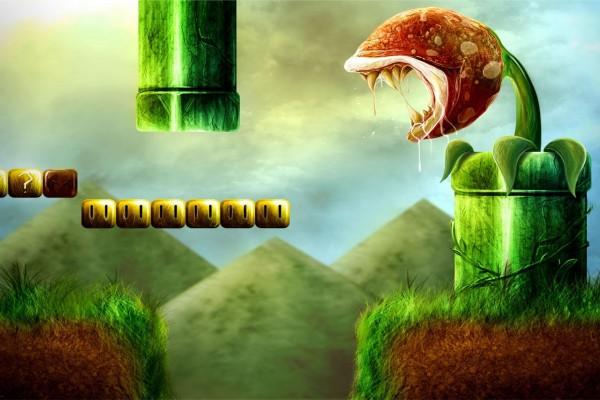 """Planta carnívora """"Super Mario Bros"""""""