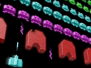 Postal: Space Invaders