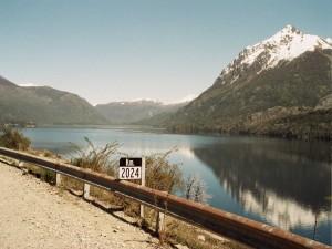 Postal: Lago Gutiérrez (Río Negro, Argentina)