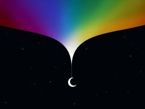 El lado brillante de la luna