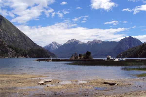 Lago Moreno, en Bariloche, Argentina