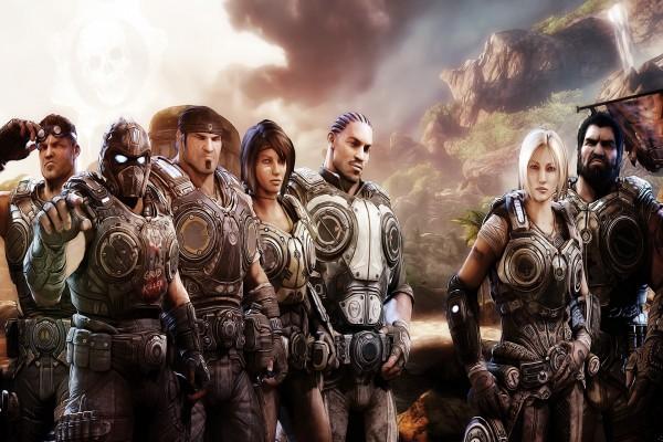 Personajes del videojuego Gears of War 3