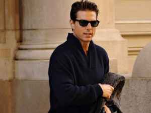 Tom Cruise con gafas de sol