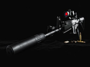 Arma con munición