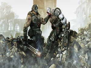 "Peleando ""Gears of War"""