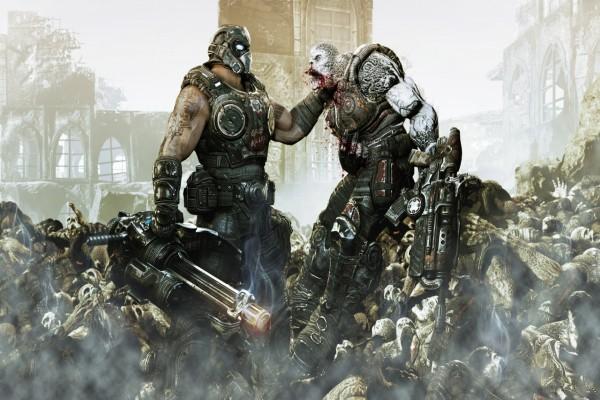 """Peleando """"Gears of War"""""""