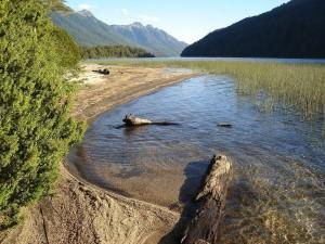 Postal: Lago Correntoso (Neuquén, Argentina)