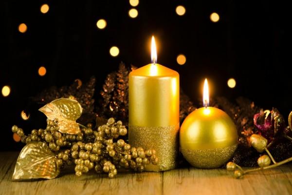 Adornos navideños de mesa
