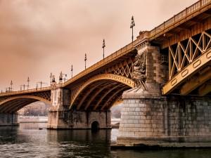 Postal: Puente de Margarita (Budapest)