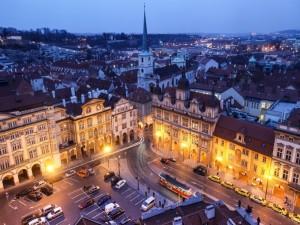 Atardecer en la República Checa