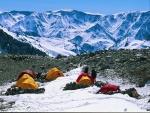 Campamento en el Aconcagua (Argentina)