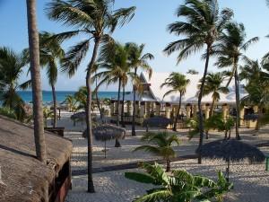 Postal: Aruba, Manchebo Beach