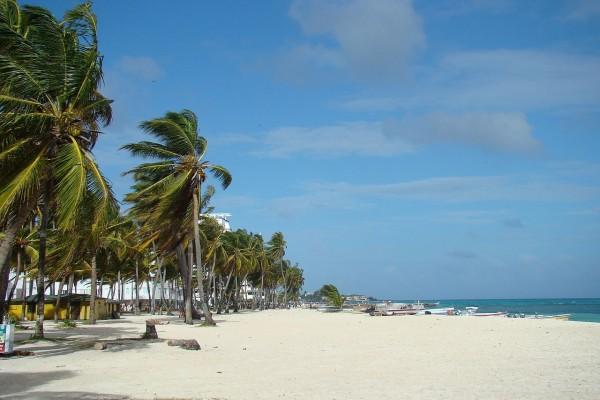 Isla de San Andres en Colombia
