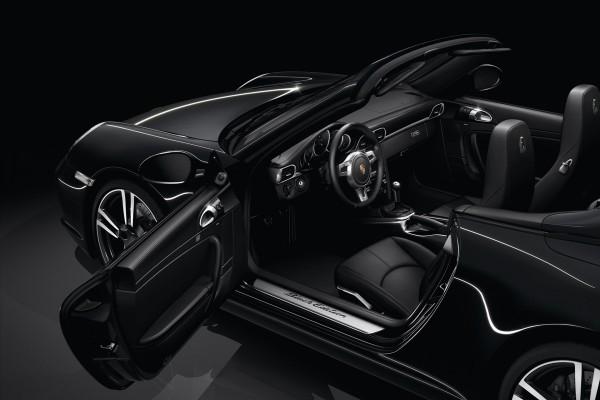 Black Edition Porsche