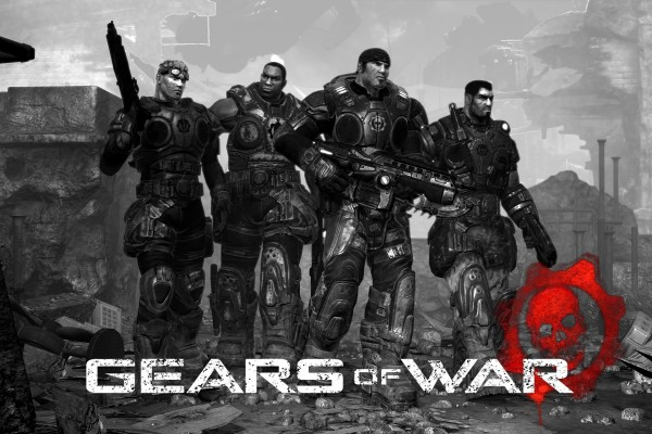 "Soldados ""Gears of War"""
