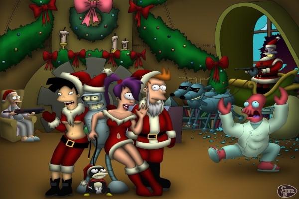 La Navidad de Futurama