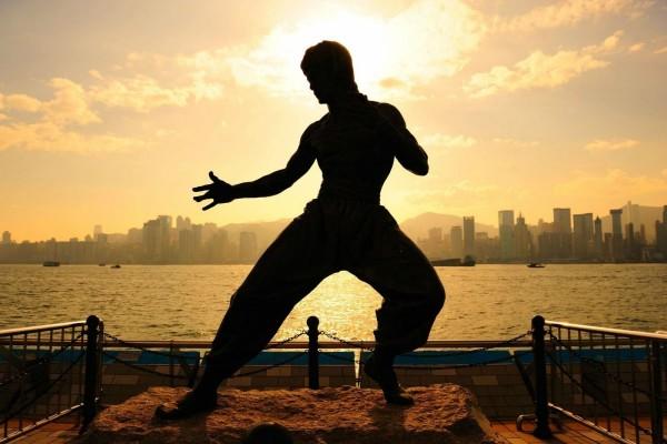 Estatua de Bruce Lee
