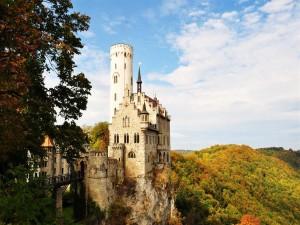 Postal: Castillo de Lichtenstein