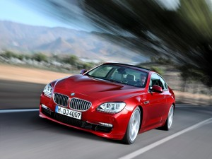 Postal: Coche BMW Coupe Vermillion