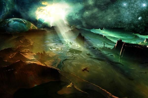 Un planeta muy lejano