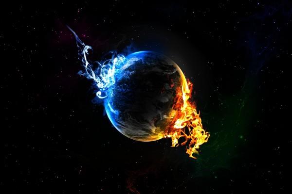 Planeta frío y caliente