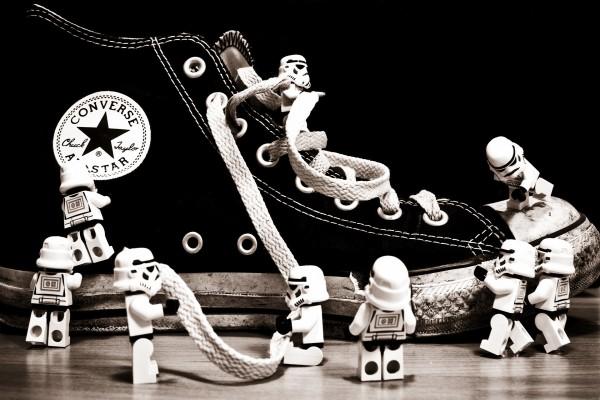 Converse con soldados de Star Wars