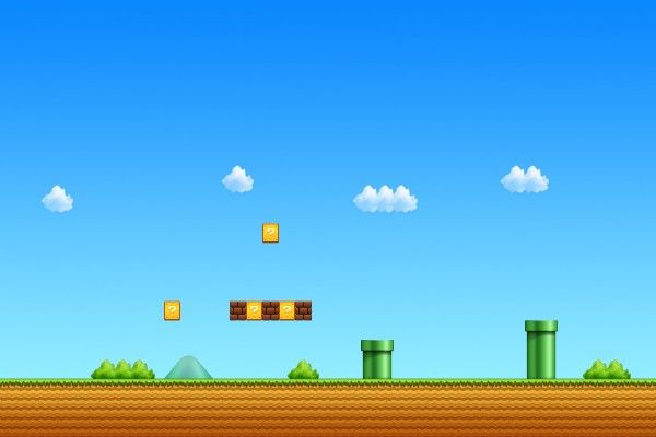 Captura de pantalla Super Mario