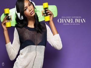 Postal: Chanel Iman, Supermodelo