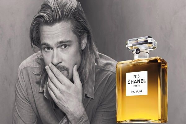 Brad Pitt y Chanel nº5
