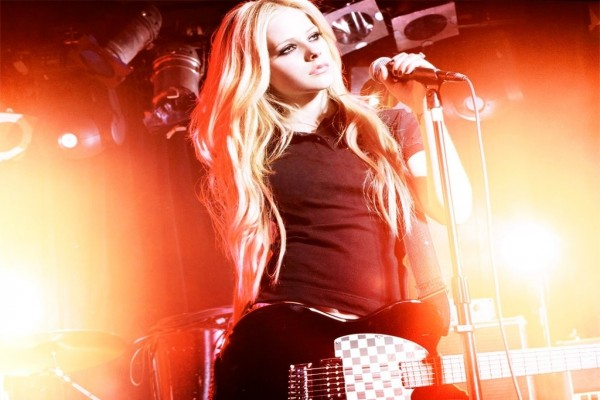 Avril Lavigne en concierto
