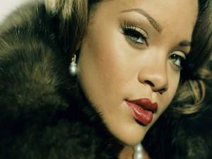 La mirada de Rihanna