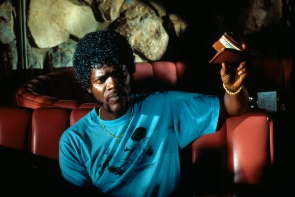 """Samuel L. Jackson como Jules en """"Pulp Fiction"""""""