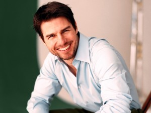 Tom Cruise con aparato dental