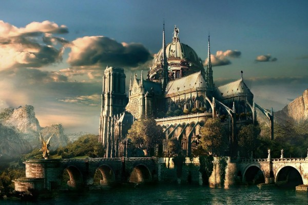 Catedral de fantasía