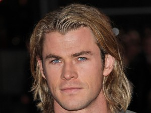 Chris Hemsworth, bellos ojos azules