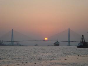 El Queshi, puente sobre el río Han en Shantou