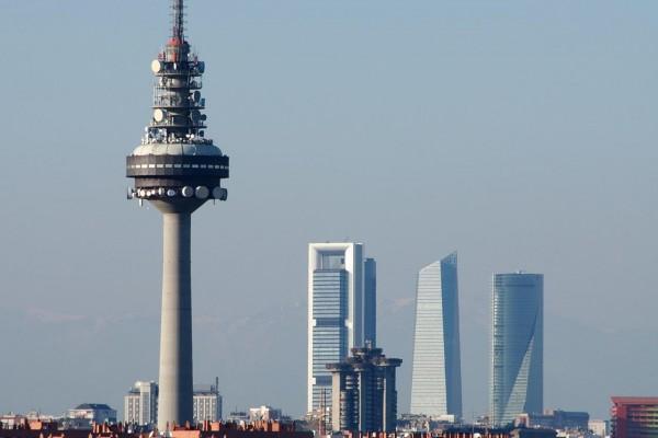 Cuatro Torres y Torrespaña (Madrid)