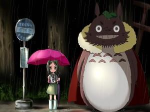 Postal: Mi vecino Totoro
