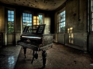 Un viejo piano