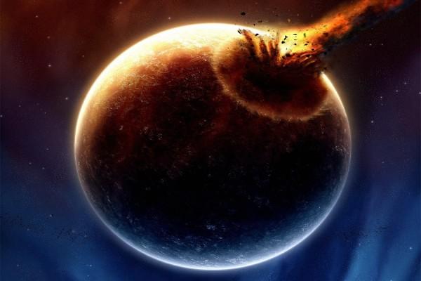 Impacto de un meteorito